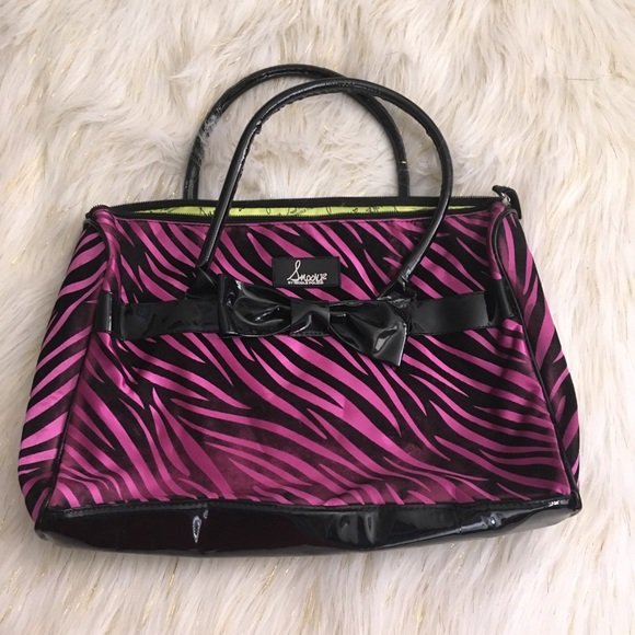 b41f474b5c1 Snooki Bags   Zebra Tote Bag   Poshmark